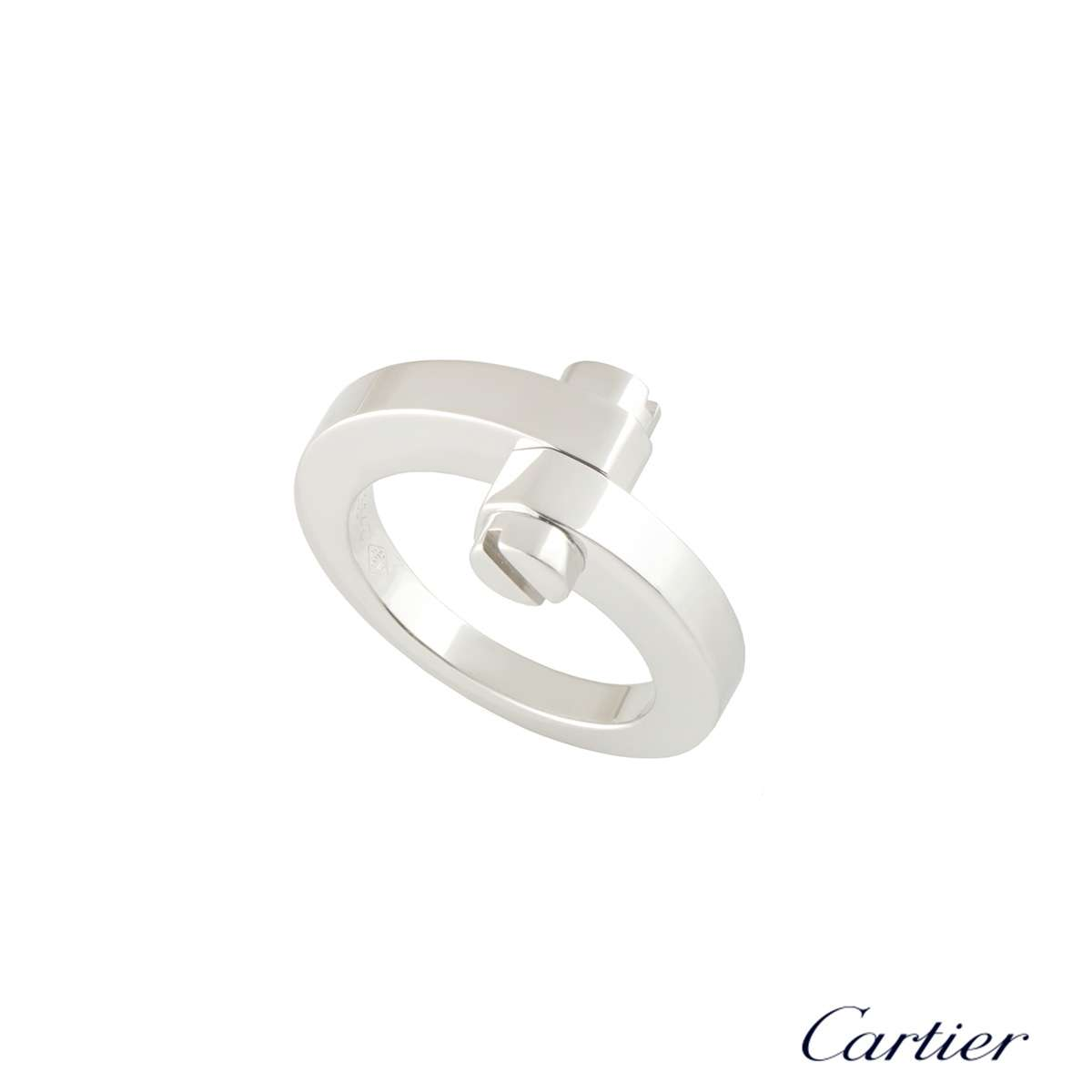 Cartier White Gold Menotte Ring